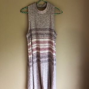 Medium Sleeveless Striped Dress